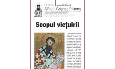 Buletin Parohial | nr. 37 | august 2015